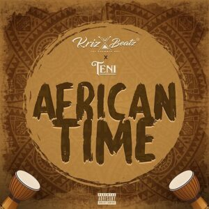 Art cover for african time by krizbeat ft teni