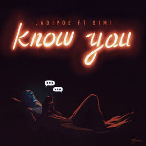 art cover for know you by simi and ladipoe