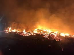 For fire out break news in lagos