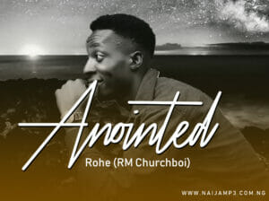 Art cover for Annointed by Rohe