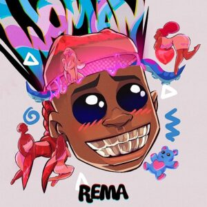 Art cover for Rema - Woman