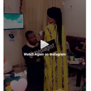 WATCH : MAN FORCED ENGAGEMENT RING ON A LADY AFTER SHE SAID NO!