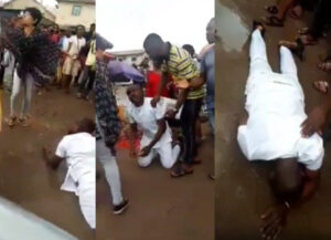 Another Man Down! Man Cries as Lady Refuses his Proposal Publicly