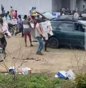 Warehouse Filled With Covid-19 Palliative Found In Osun State