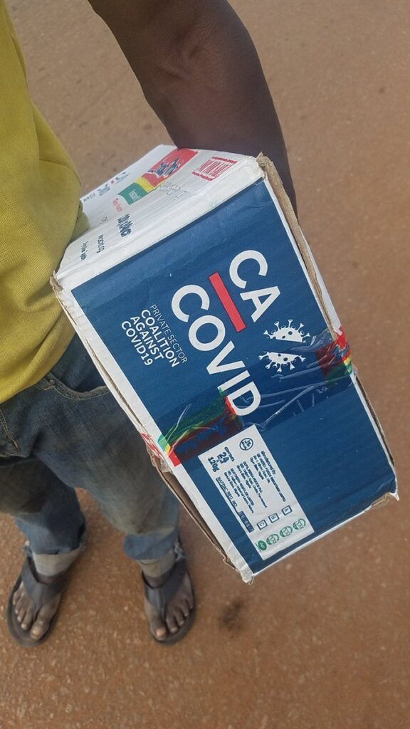 Residents of Ilorin Finds Covid-19 Palliatives Warehouse