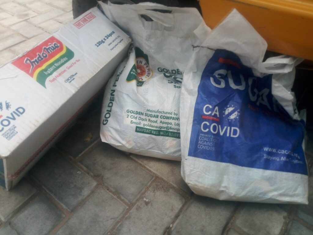 Warehouse containing COVID-19 Palliatives has been discovered in Yola, Adamawa state