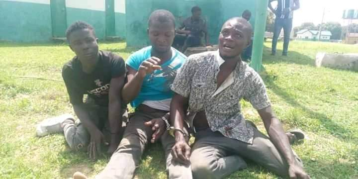 Suspected Looters of NYSC Camp In Abuja Arrested