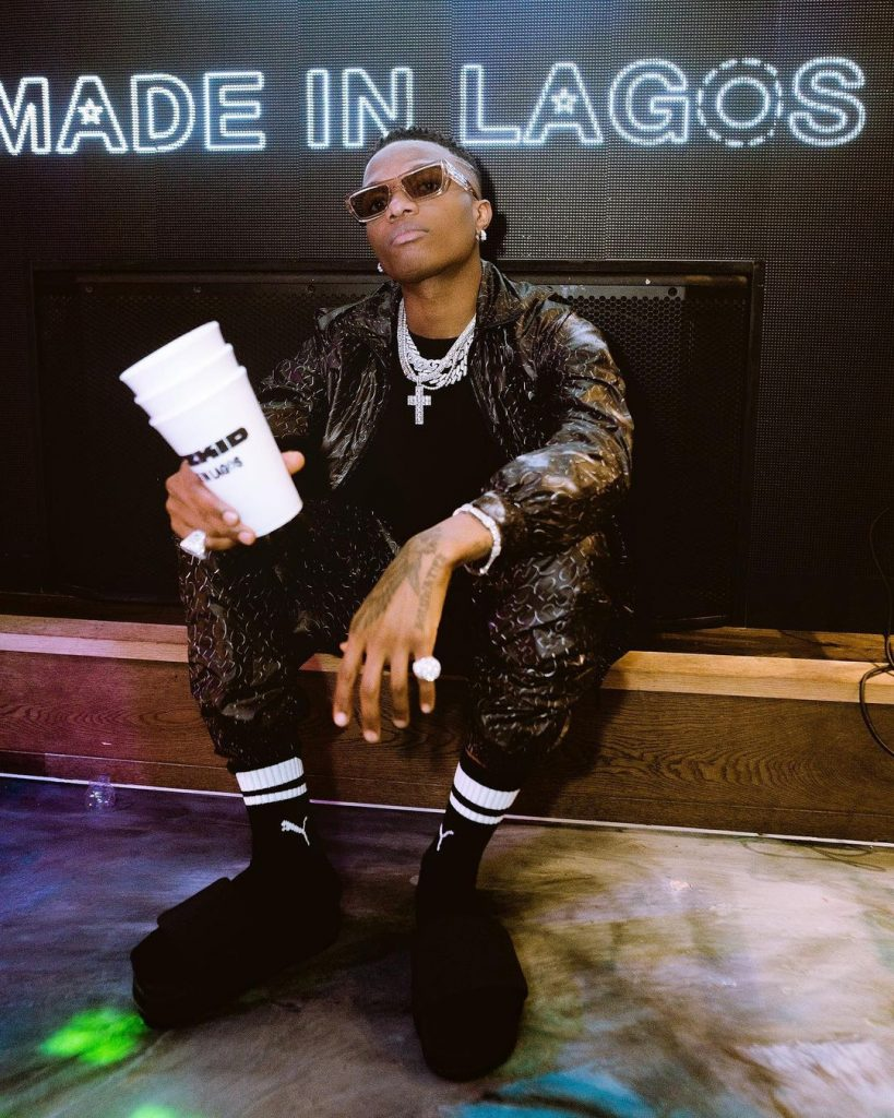 """You Are The King""- Banky W, Falz, Tekno, Brodashaggi, Other Stars React As Wizkid Shares New Post"