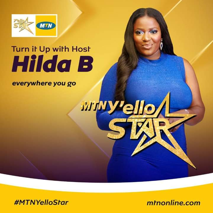 Hilda Baci is a host in MTN Yello Star reality show 2020