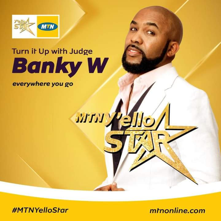 Banky W is a host in MTN Yello Star reality show 2020