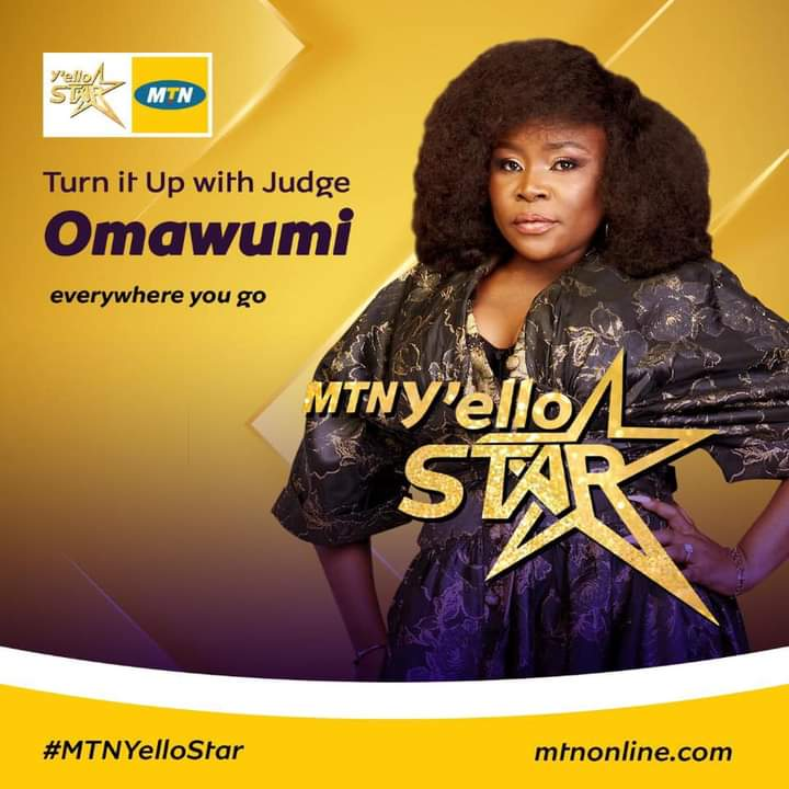Omawumi is a host in MTN Yello Star reality TV show 2020