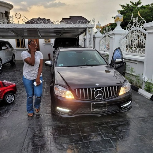 Nigerian lady surprised with a brand new Mercedes Benz for being so kind to her boss