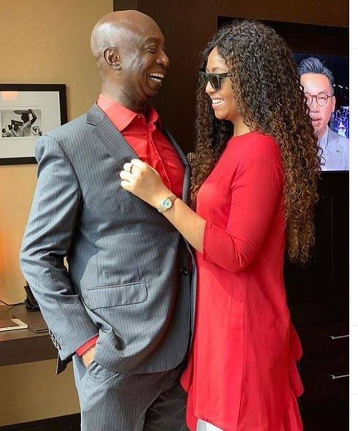 Regina Daniel's Husband, Ned Nwoko Clears Her Doubt - I Was Very Good Looking When I Was Little