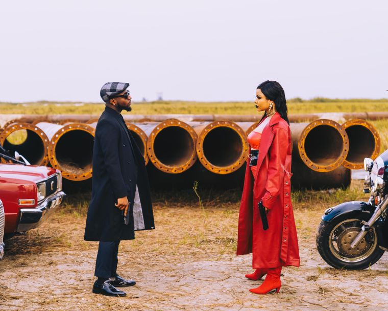 GET A BEHIND THE SCENES LOOK AT DAVIDO'S JOWO VIDEO