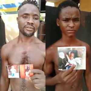 Watch: Man Who Uses Biscuit and Egg to Lure Children Arrested In Enugu