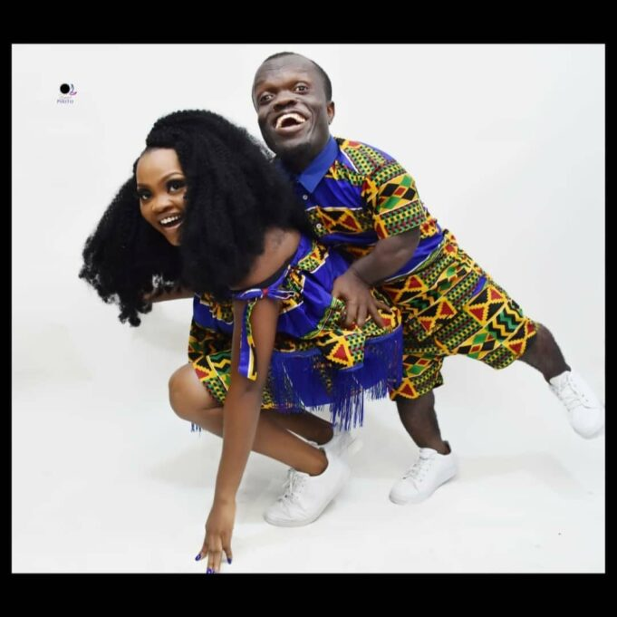 """""""A man is a man regardless of how he looks"""" – OAP Nkubi's lover speaks on their engagement."""