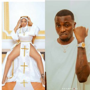 """Let this be the last time you will disrespect our religion""""- Davido's former PA, Aloma warns fashion entrepreneur, Toyin Lawani, over her racy nun outfit"""