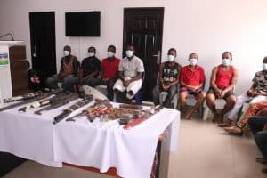 Breaking: 16 suspects linked to killings of security operatives across the country arrested by the police(photos)