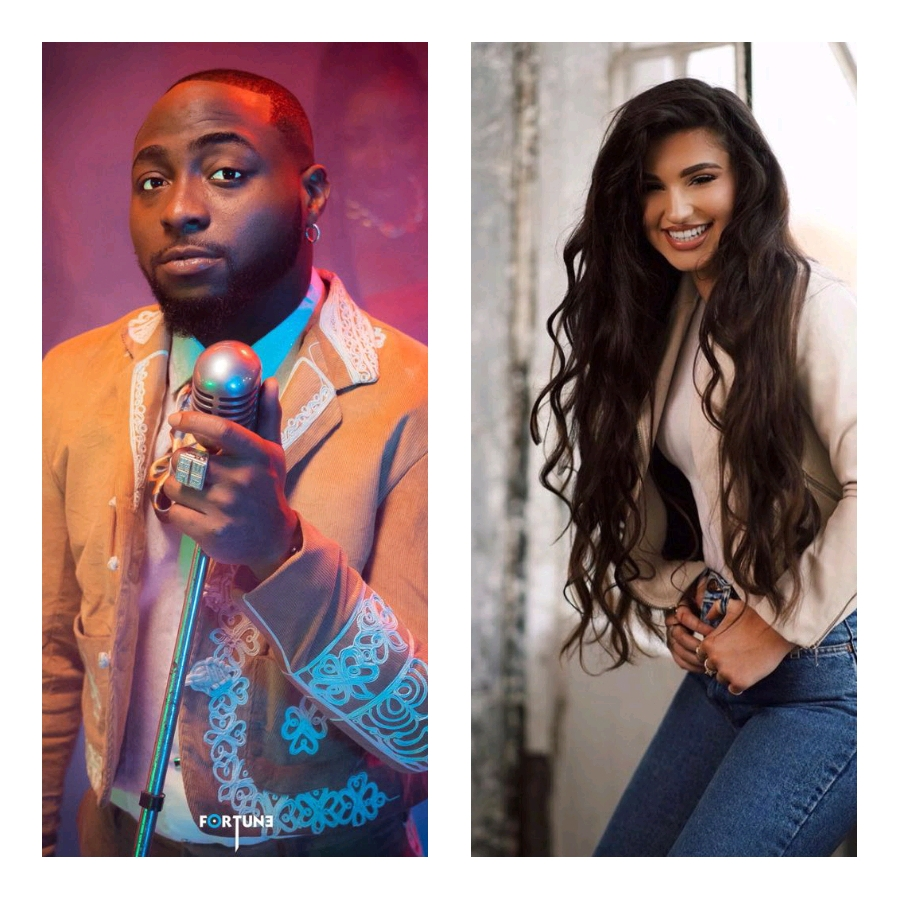"""US singer, Enisa finally meet Davido for the """"love cycle"""" remix music video"""