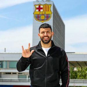 Sergio Aguero Joins FC Barcelona on a 2 years Contract.