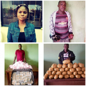 Bursted! 10 Online drug traffickers Arrested In Abuja By NDLEA