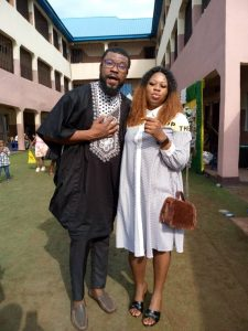 Nollywood Actor Ape David congratulate his wife on her birthday